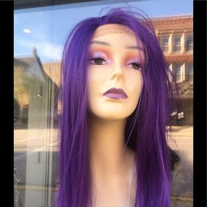 Freepart purple Lacefront wig 2020 hairstyle